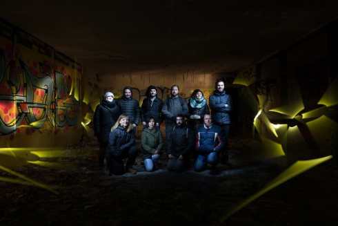 Foto grupo I Taller Iniciación al Light Painting AFOAH