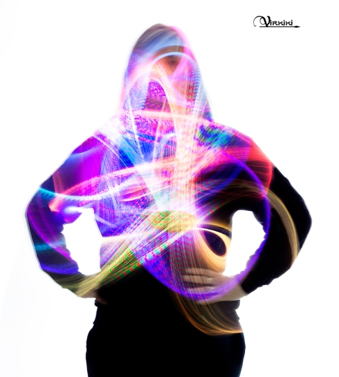 Virginia Menchón Iniciación al Light Painting AFOAH